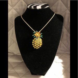New Pineapple Brooch/Pendant Necklace